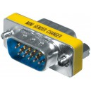 Mini-Gender-Changer 15pol HD (VGA) St/St